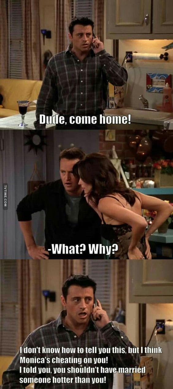 Clueless Joey