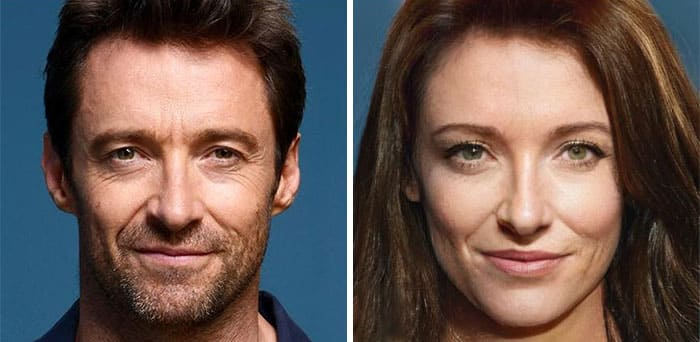 Hugh Jackman Female
