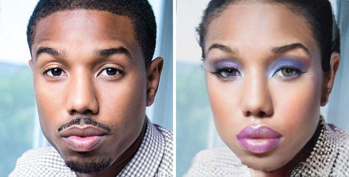 Michael B. Jordan Female