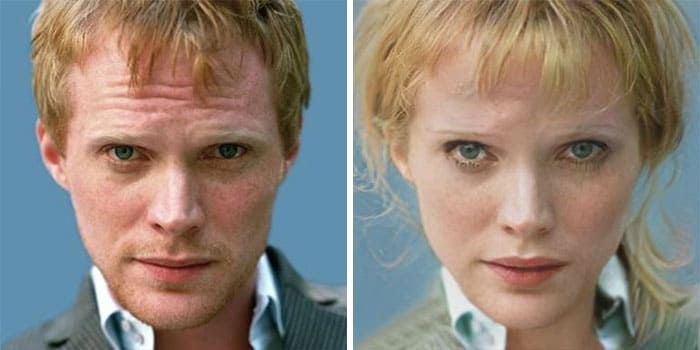 Paul Bettany Female