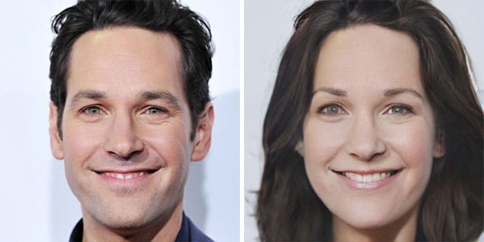Paul Rudd Female