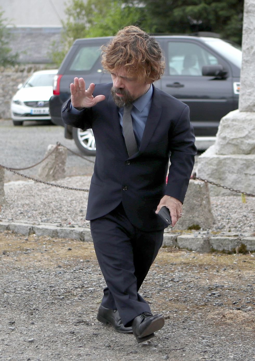 Peter Dinklage looks so darn good here.