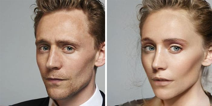 Tom Hiddleston Female