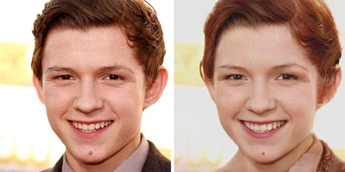 Tom Holland Female