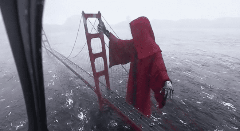 Video of Grim Reaper hovering over Golden Gate Bridge goes viral