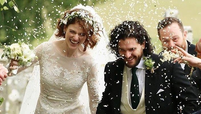 Jon Snow & Ygritte Are Officially Married & Check out the Wedding Pics.