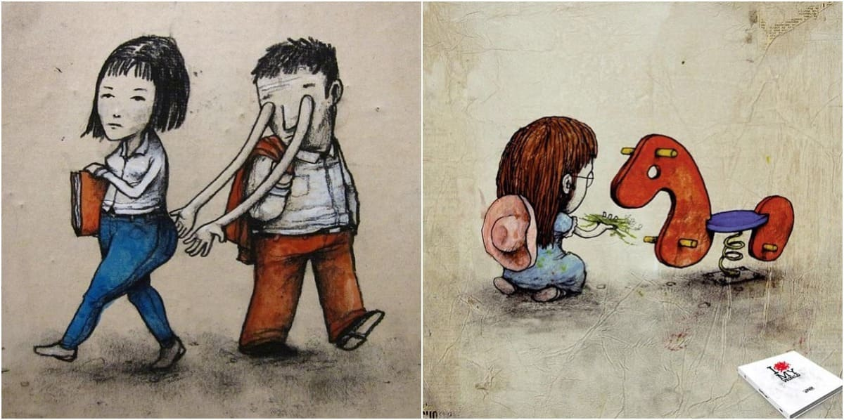 11 Comic Pictures that shows the true colors of human society